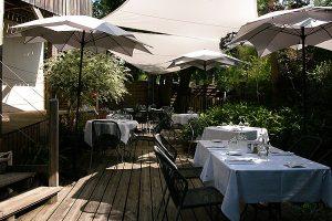 Jardin du restaurant LE PITEY