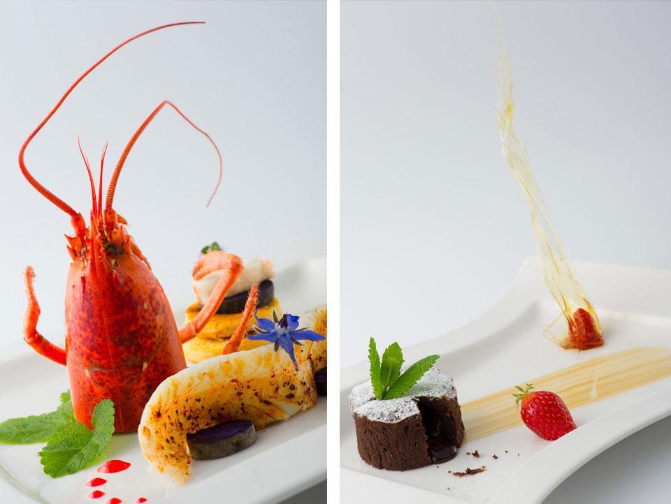 Plats réalisés par le restaurant LE PITEY à Arès